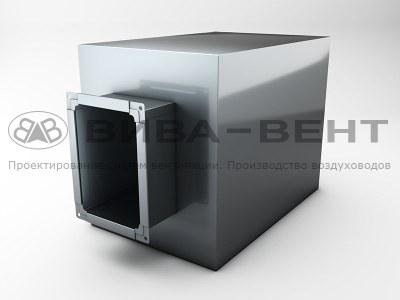 Шумоглушители прямоугольные трубчатые (ГТП)