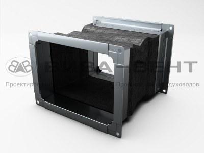 Гибкие вставки для воздуховодов прямоугольного сечения
