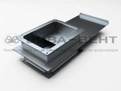 Шибер вентиляционный прямоугольного сечения