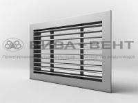 Решетка вентиляционная инерционная АГС