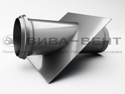 Узлы прохода вентиляционные стальные