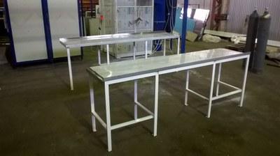 Столы кухонные из нержавеющей стали